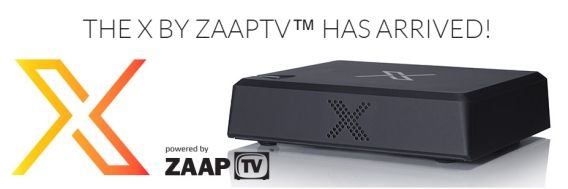 X Powered by ZAAP TV