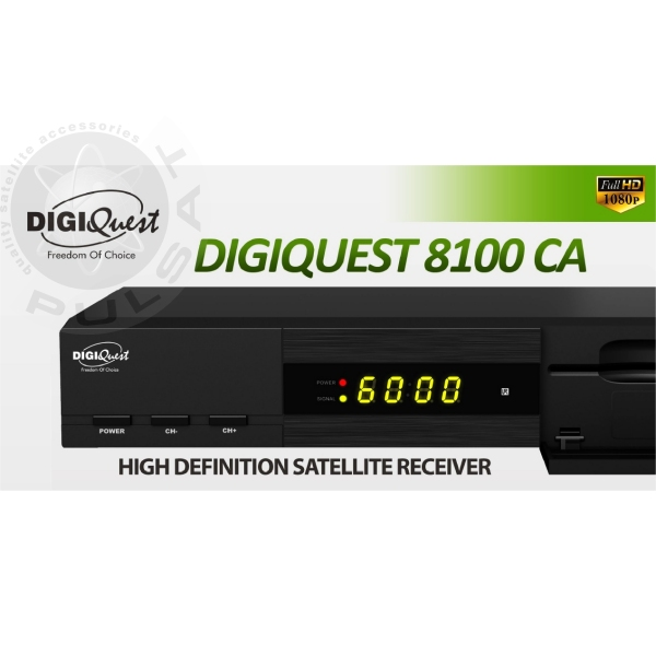 PULSAT.COM - DIGIQUEST 8100CA FULL HD 1080P PVR INTERNET ...