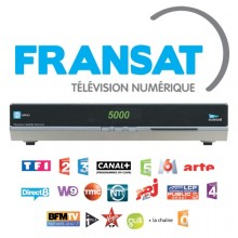 Fransat TV - Official French TV Decoder and Card