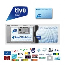 TivuSat CA Module and Viewing Card