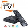 Kartina Quattro HD Russian IPTV Android Set Top Box
