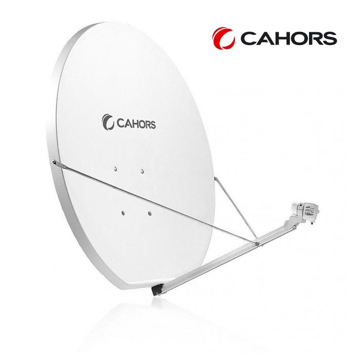 Cahors 1.2m SMC Satellite Dish with AZ/EL Mount