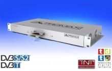 CompactMax-1: DVB-S/S2 to DVB-T Transmodulator